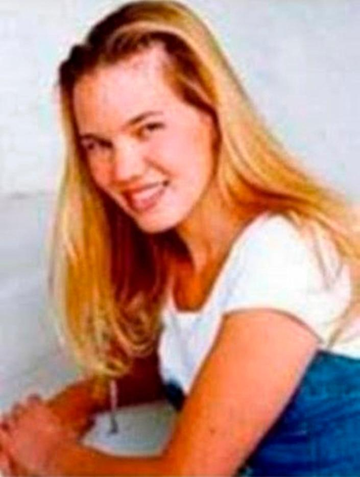 This undated photo released by the FBI shows Kristin Smart, the California Polytechnic State University, San Luis Obispo student who disappeared in 1996.
