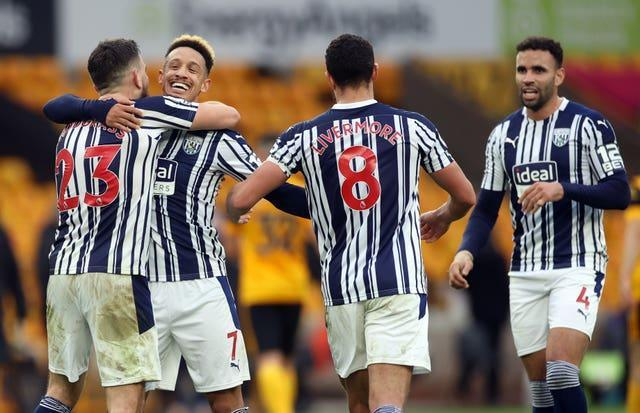 West Brom recorded their second win of the season to edge closer to safetywich Albion – Premier League – Molineux Stadium