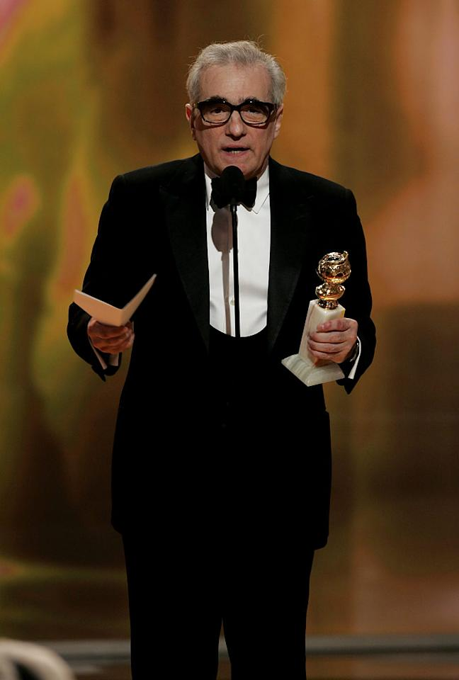 """<a href=""""/martin-scorsese/contributor/29008"""">Martin Scorsese</a> doesn't slow down a bit at <a href=""""/the-64th-annual-golden-globe-awards/show/40075"""">the 64th annual Golden Globe Awards</a>."""