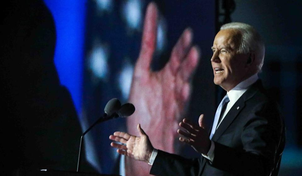 """Joe Biden tweeted in July that """"Americans are safer when America is engaged in strengthening global health"""". Photo: dpa"""