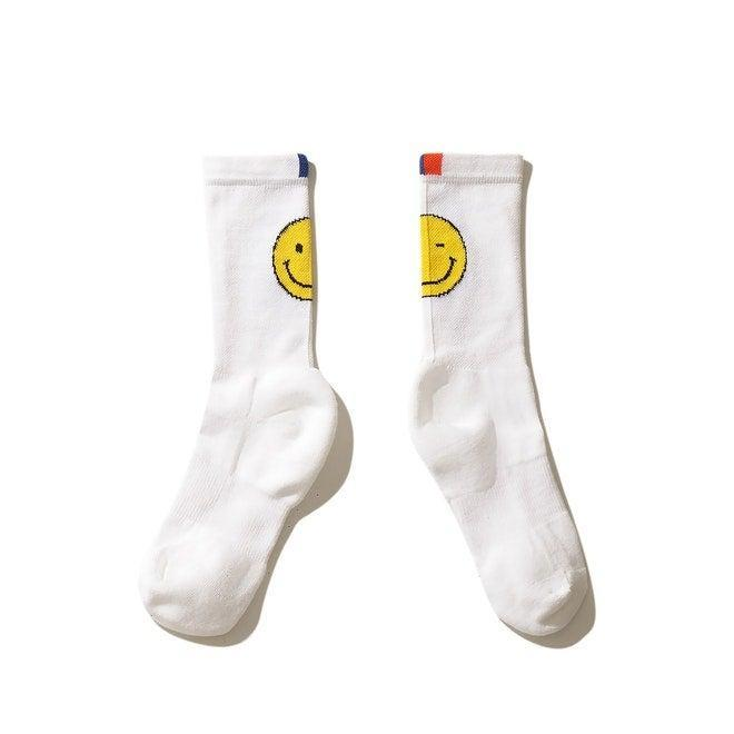"""<h2>Kule Wink Face Socks</h2><br>""""Anyone who knows me knows I have a tube sock problem — and Kule is my catnip. I already own just about every pair from the cool-preppy brand but these winky babies are next on my fall shopping list. I cannot wait to wear them with clogs and crop-flared jeans for a little peekaboo smiling-ankle moment."""" <em>– Elizabeth Buxton, Deputy Director</em><br><br><em>Shop <strong><a href=""""https://www.kule.com/collections/the-sock-bar"""" rel=""""nofollow noopener"""" target=""""_blank"""" data-ylk=""""slk:Kule"""" class=""""link rapid-noclick-resp"""">Kule</a></strong></em><br><br><strong>Kule</strong> The Wink Face Sock - White, $, available at <a href=""""https://go.skimresources.com/?id=30283X879131&url=https%3A%2F%2Fwww.kule.com%2Fcollections%2Fthe-sock-bar%2Fproducts%2Fthe-womens-wink-face-sock-white"""" rel=""""nofollow noopener"""" target=""""_blank"""" data-ylk=""""slk:Kule"""" class=""""link rapid-noclick-resp"""">Kule</a>"""