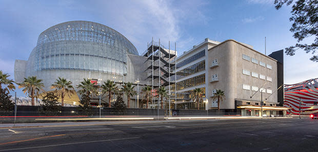The new Academy Museum of Motion Pictures in Los Angeles. / Credit: Academy Museum Foundation