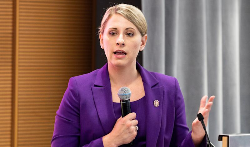 Katie Hill. (Photo: SOPA Images via Getty Images)