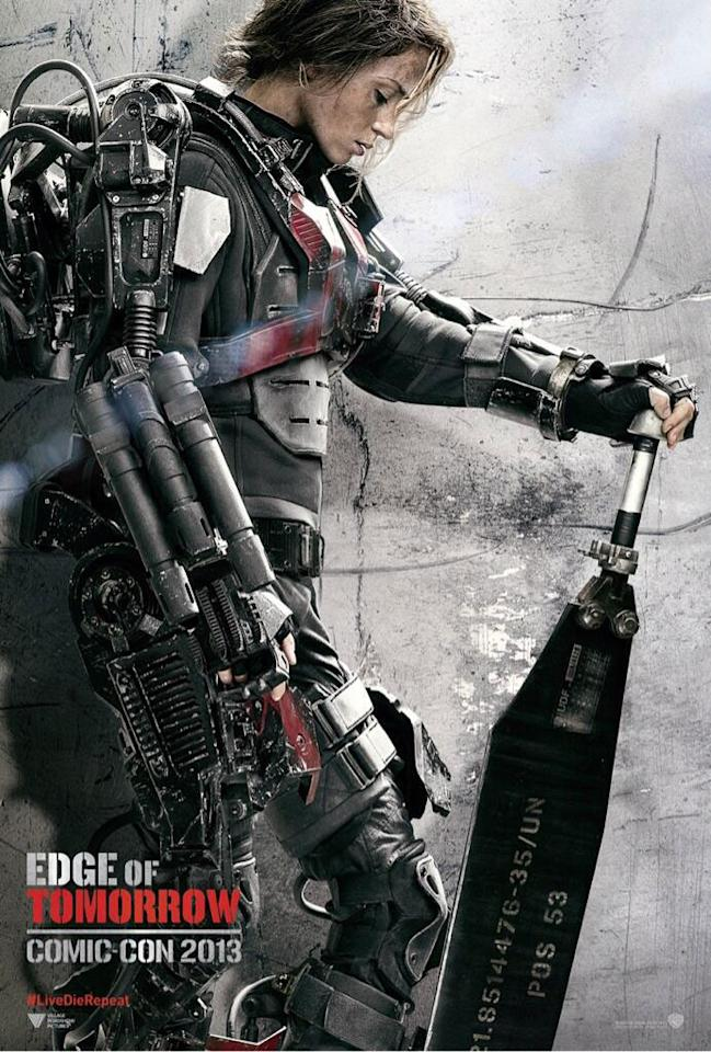"""Emily Blunt in Warner Bros. Pictures' """"Edge of Tomorrow"""" - 2014"""