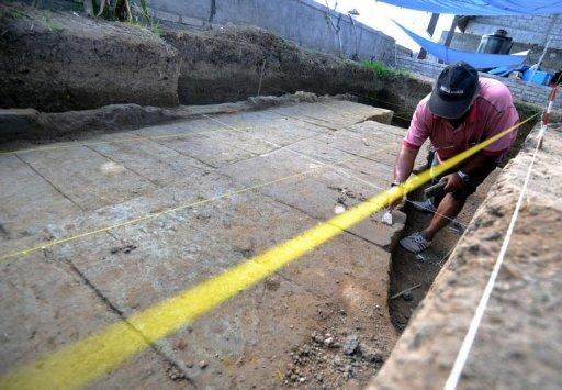 Construction workers have discovered what is thought to be the biggest ancient Hindu temple ever found on Bali