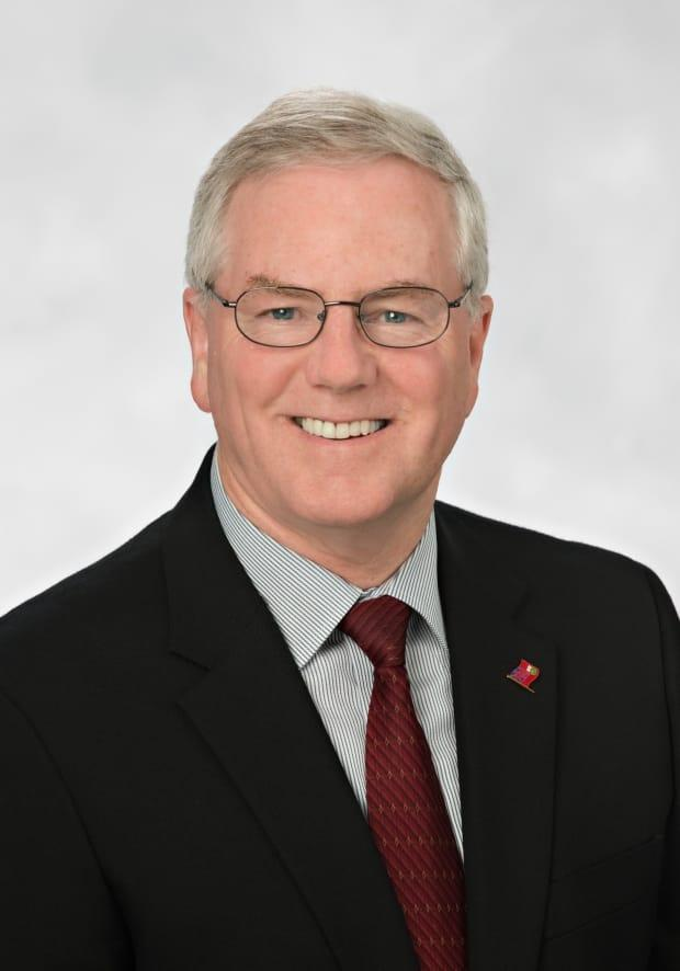 Jim McDonell, the MPP for Stormont—Dundas—South Glengarry, said he contracted COVID-19 and is experiencing mild symptoms, which he attributes to having recently received a vaccine. (Submitted - image credit)