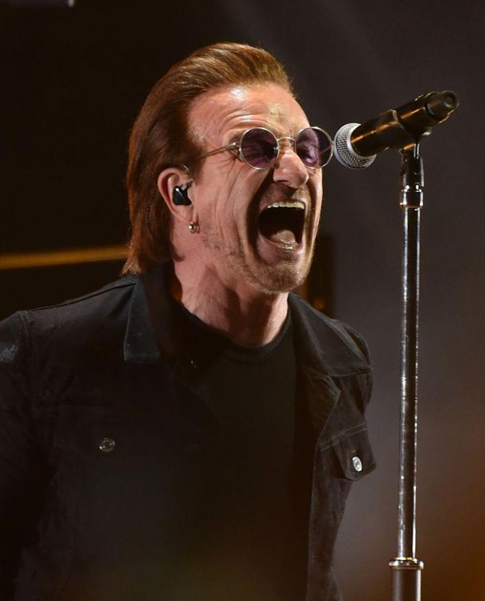 """<p>First on the list of monosyllabic singers is Paul David Hewson. Hewson was named """"Bono Vox"""" by a childhood friend. (""""Bonavox"""" being latin for """"good voice."""") Later, Bono adopted the first name as, well, his only recognizable name.</p>"""