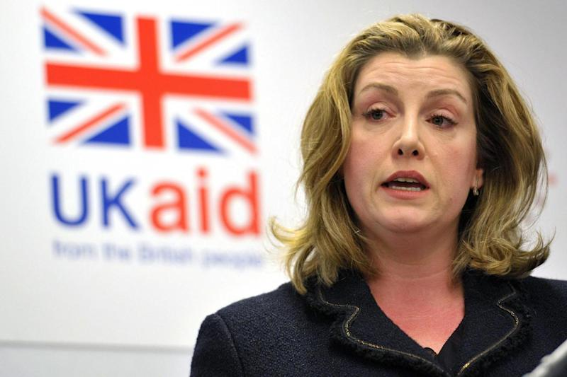 Penny Mordaunt condemned the