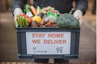 """<p>Grocery delivery is now more popular than ever, since many people want to avoid the chore. That's where apps like <a href=""""https://shoppers.instacart.com/"""" rel=""""nofollow noopener"""" target=""""_blank"""" data-ylk=""""slk:Instacart"""" class=""""link rapid-noclick-resp"""">Instacart </a>or <a href=""""https://go.redirectingat.com?id=74968X1596630&url=https%3A%2F%2Fwww.shipt.com%2Fbe-a-shopper%2F&sref=https%3A%2F%2Fwww.redbookmag.com%2Flife%2Fmoney-career%2Fg33636079%2Fsimple-gig-economy-jobs%2F"""" rel=""""nofollow noopener"""" target=""""_blank"""" data-ylk=""""slk:Shipt"""" class=""""link rapid-noclick-resp"""">Shipt</a> come in. You can sign up to work for either of them, and quickly get approved to walk the grocery aisles picking up ingredients, purchase their items and deliver the food to someone's door. Instacart also hires people to strictly be in-store shoppers (for pick-up orders), if you don't have a car.</p>"""
