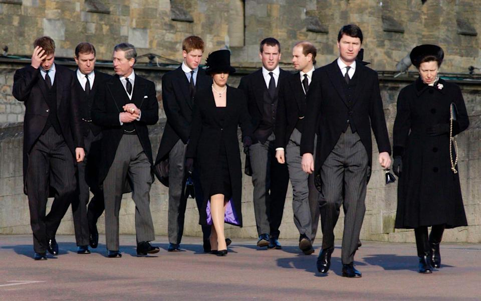The Royal Family Attending The Funeral Of Princess Margaret -  Tim Graham Photo Library/ Tim Graham