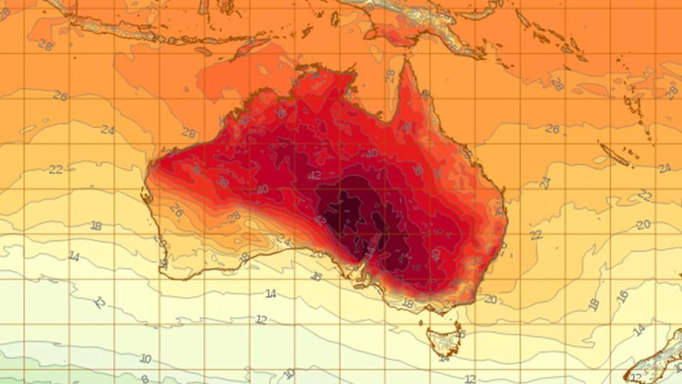 Records tumble amid NSW heat, fire risk