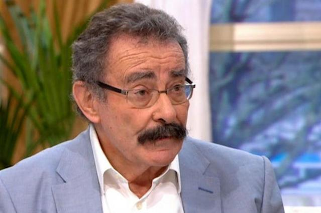 Lord Winston does not think we should be kissing in public during the coronavirus outbreak (Picture: ITV)