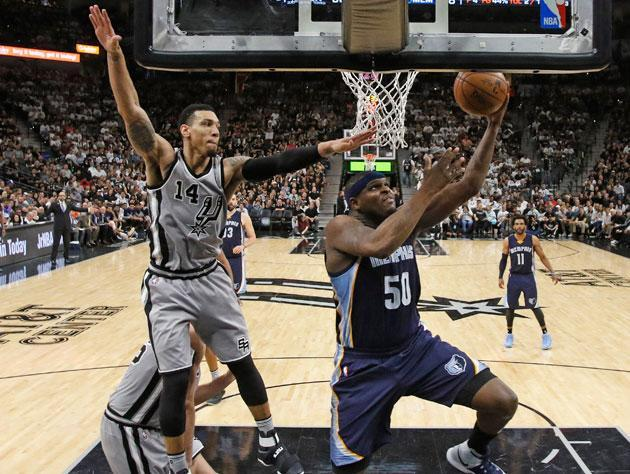 Zach Randolph was not his usual self in Game 1. (Getty Images)