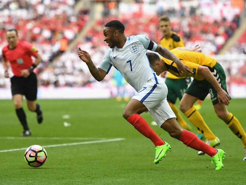 Sterling was impressive in the hour he was on the pitch for: Getty