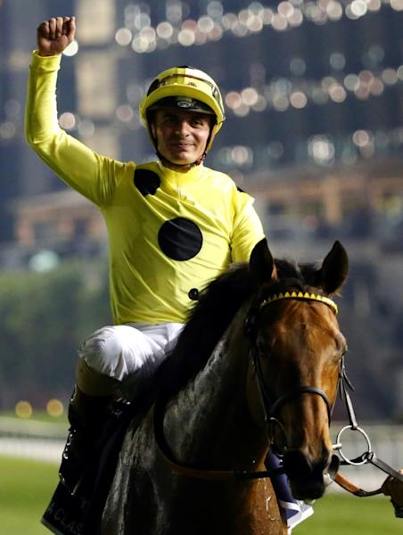 Andrea Atzeni told AFP he did not notice the lack of spectators at Newcastle but he is sure to when the big races begin on Friday at Newmarket