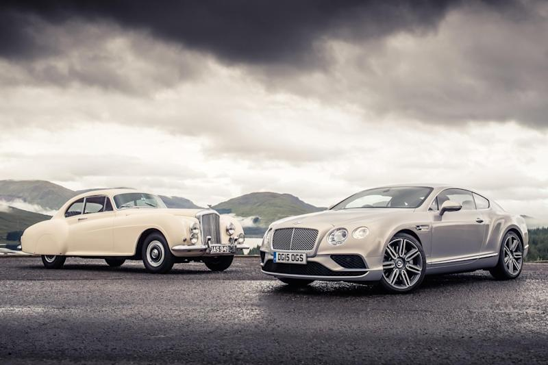 Bentley Compares Continentals Old And New