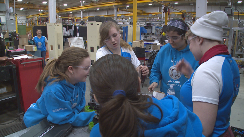 Meet the all-female rookie robotic squad headed to a world championship