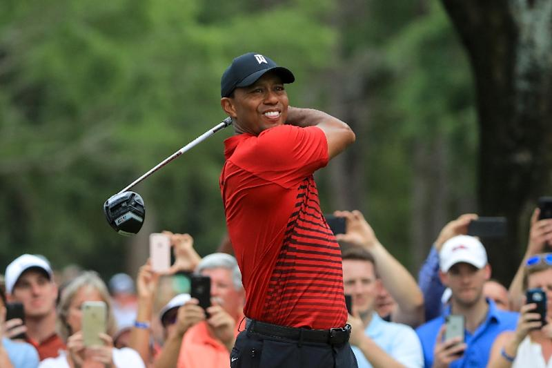 He Stuck to Golf: Tiger Woods, Roaring Back, Ties for 2nd