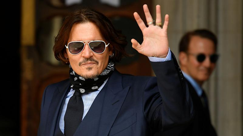 Johnny Depp has finished giving evidence but was present at the High Court on Tuesday