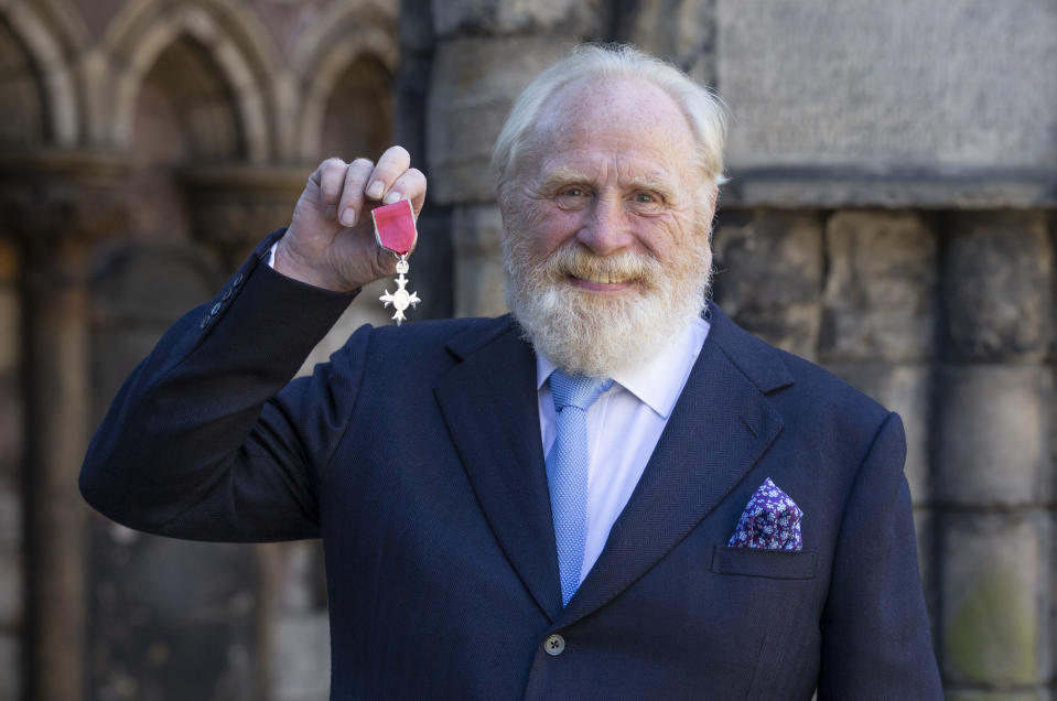 EDINBURGH, SCOTLAND - JULY 03:  Actor James Cosmo after receiving his (Member of the Order of the British Empire) MBE for services to drama from Queen Elizabeth II during an Investiture ceremony at the Palace of Holyroodhouse on July 3, 2018 in Edinburgh, Scotland.   (Photo by Jane Barlow - WPA Pool/Getty Images)