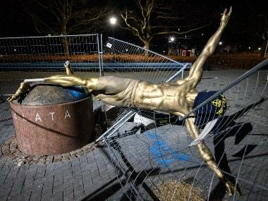 Zlatan Ibrahimovic's statue to stay in Malmo, confirm city authorities with final call on location yet to be taken