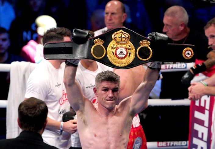 Liam Smith produced an eight-round stoppage (Peter Byrne/PA) (PA Wire)