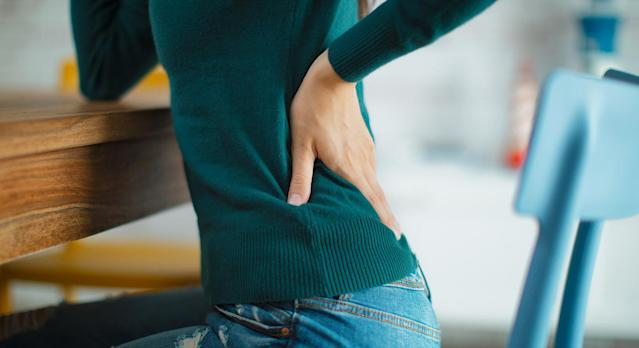 Is working from home wreaking havoc with your back? (Getty Images)