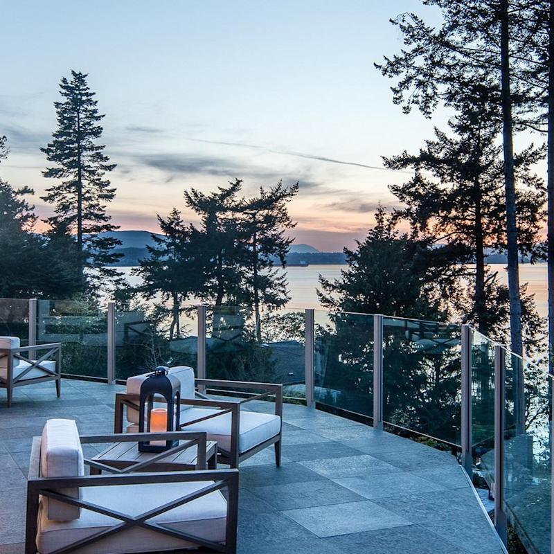 It boasts a deck view of the ocean (Sotheby's International Realty)