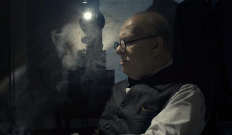 Gary Oldman becomes Winston Churchill in Darkest Hour - Credit: Working Title