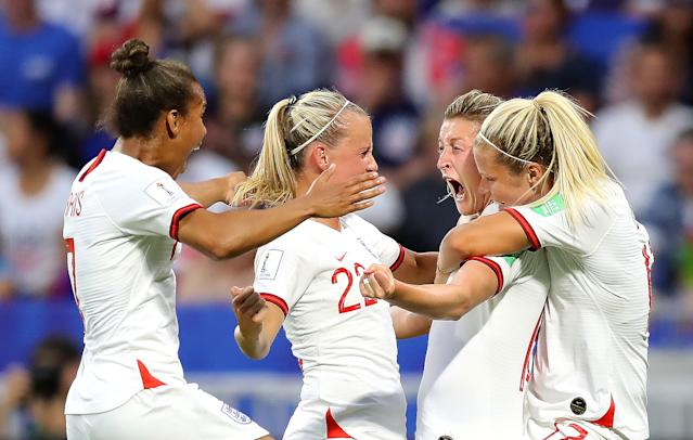 England's run to the World Cup semi-final drew record TV audiences. (Credit: Getty Images)