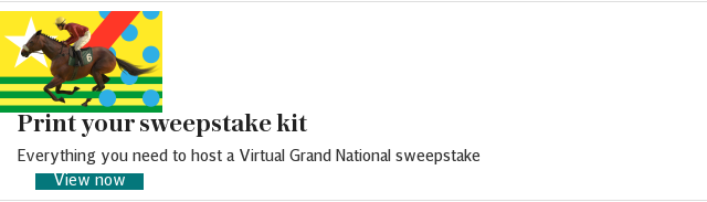 Virtual Grand National sweepstake