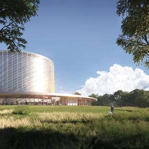 A look at General Fusion's planned Fusion Demonstration Plant at the UKAEA Culham Campus.
