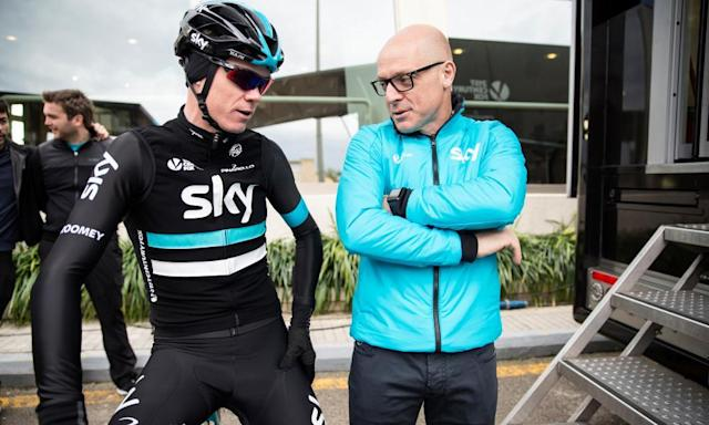 "<span class=""element-image__caption"">Dave Brailsfgord believes Chris Froome's failed test should not have been made public. </span> <span class=""element-image__credit"">Photograph: Scott Mitchell/teamsky.com via Getty Images</span>"