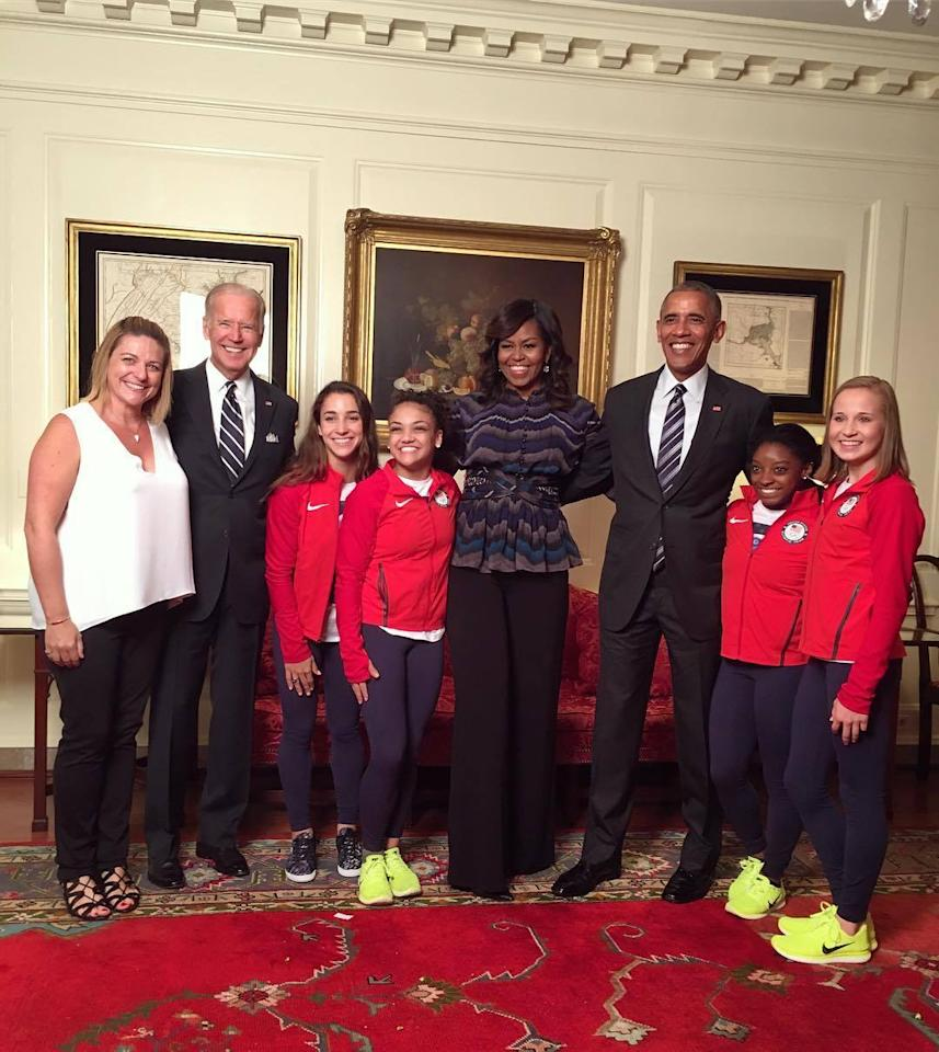 What Is Executive Privilege Yahoo Answers: President Obama Welcomes Team USA Olympians To The White House