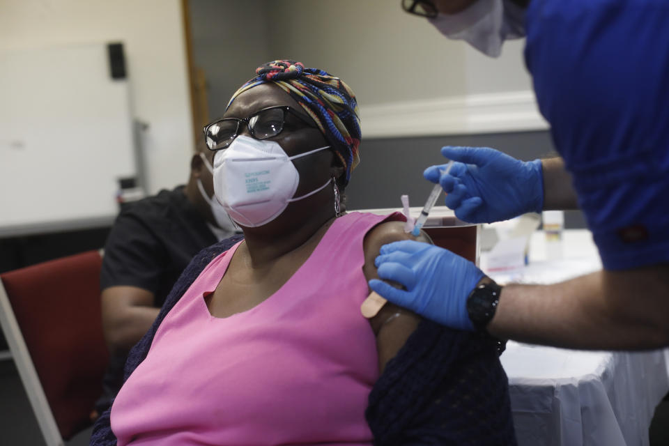 Across the United States, Black churches has been leading community efforts to fight vaccine hesitancy within local communities. (Octavio Jones/Getty Images)