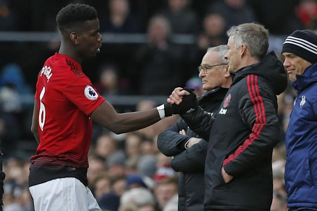 Paul Pogba has become Manchester United's key player under Ole Gunnar Solskjaer (AFP Photo/Ian KINGTON)