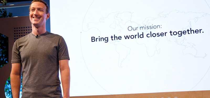 Facebook CEO reveals the company's new mission statement.