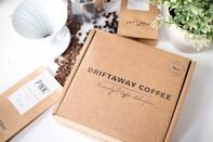"""International travel might still be difficult right now, but sampling coffee from around the world doesn't have to be. Driftaway's subscription boxes send a monthly selection of single-origin beans—from the likes of Guatemala, Ethiopia, <a href=""""https://www.cntraveler.com/gallery/where-to-go-in-brazil-beyond-rio?mbid=synd_yahoo_rss"""" rel=""""nofollow noopener"""" target=""""_blank"""" data-ylk=""""slk:Brazil"""" class=""""link rapid-noclick-resp"""">Brazil</a>, and Uganda—right to your doorstep. To start, members are sent a tasting kit in order to identify their favorite types of roasts and customize their boxes. And the selection is definitely a step above grocery store blends: All of Driftaway's coffee is purchased from small-batch farmers around the world, and each box includes information on the story of the farmer who grew that month's beans. $102, Driftaway Coffee (Starting price). <a href=""""https://driftaway.coffee/"""" rel=""""nofollow noopener"""" target=""""_blank"""" data-ylk=""""slk:Get it now!"""" class=""""link rapid-noclick-resp"""">Get it now!</a>"""