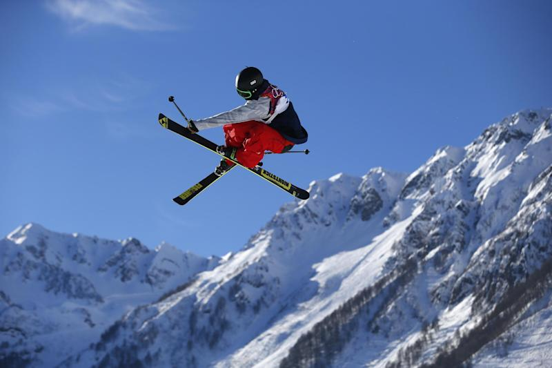 Christensen leads US sweep in slopestyle skiing