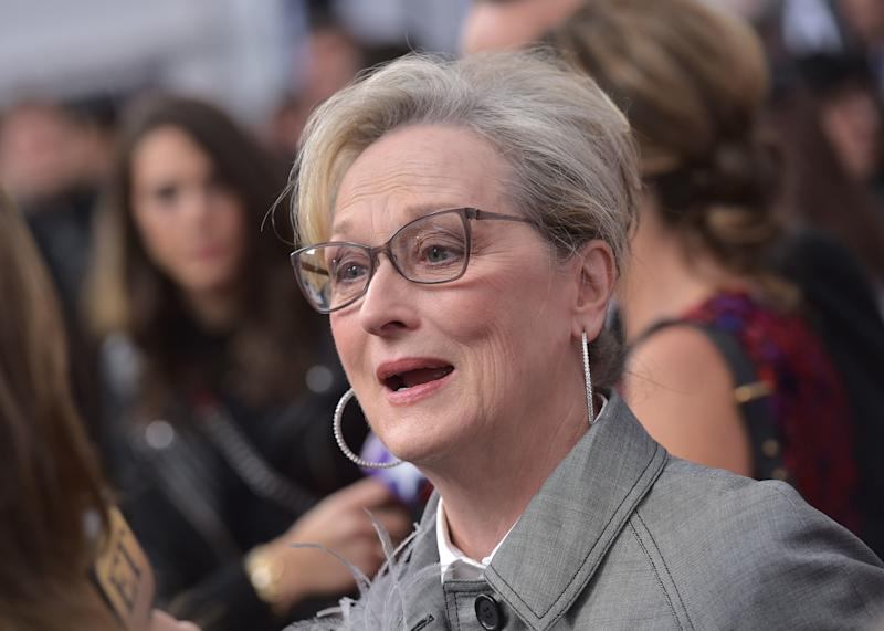 Meryl Streep told an outlet she wouldn't talk about reports of a planned protest at the Golden Globes.