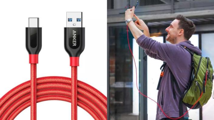 Used to choosing between lounging and charging? Leave that behind with this cable.