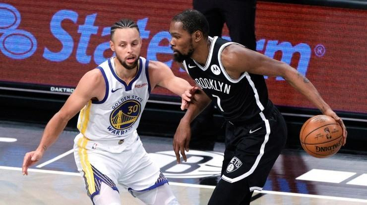 Stephen Curry y Kevin Durant