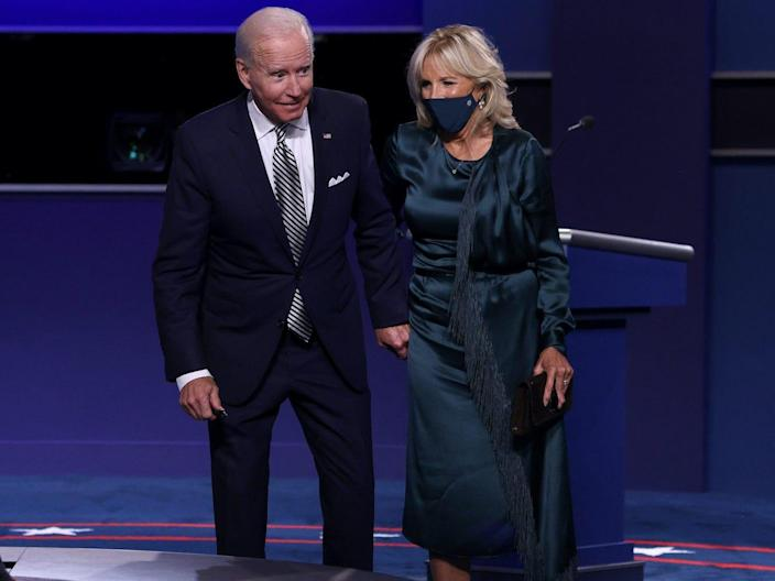jill biden presidential debate september 2020