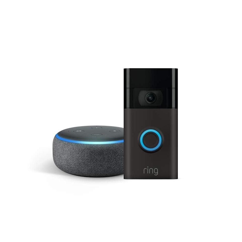 <p><span>Ring Video Doorbell With Echo Dot</span> ($70, originally $150)</p>