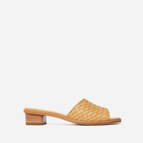 """These sandals go with all the summer dresses you will buy in this sale. $88, Everlane. <a href=""""https://www.everlane.com/products/womens-city-sandal-tan-woven?collection=womens-sale"""" rel=""""nofollow noopener"""" target=""""_blank"""" data-ylk=""""slk:Get it now!"""" class=""""link rapid-noclick-resp"""">Get it now!</a>"""