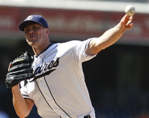 Richard's 5-hitter gives Padres 2-0 win over Cubs