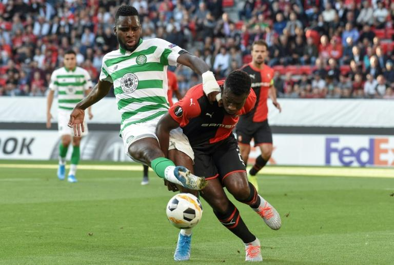 Odsonne Edouard (left) scored twice in Celtic's 3-1 win over Kilmarnock
