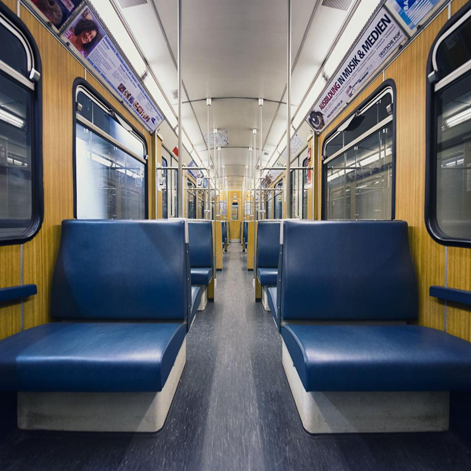 Subway images that resemble a spaceship