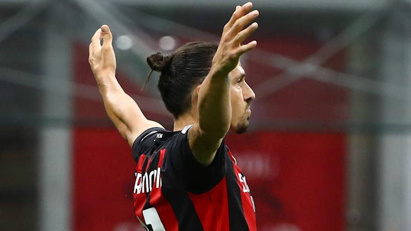 Milan boss Pioli hails 'champion' Ibrahimovic after Zlatan makes Serie A history