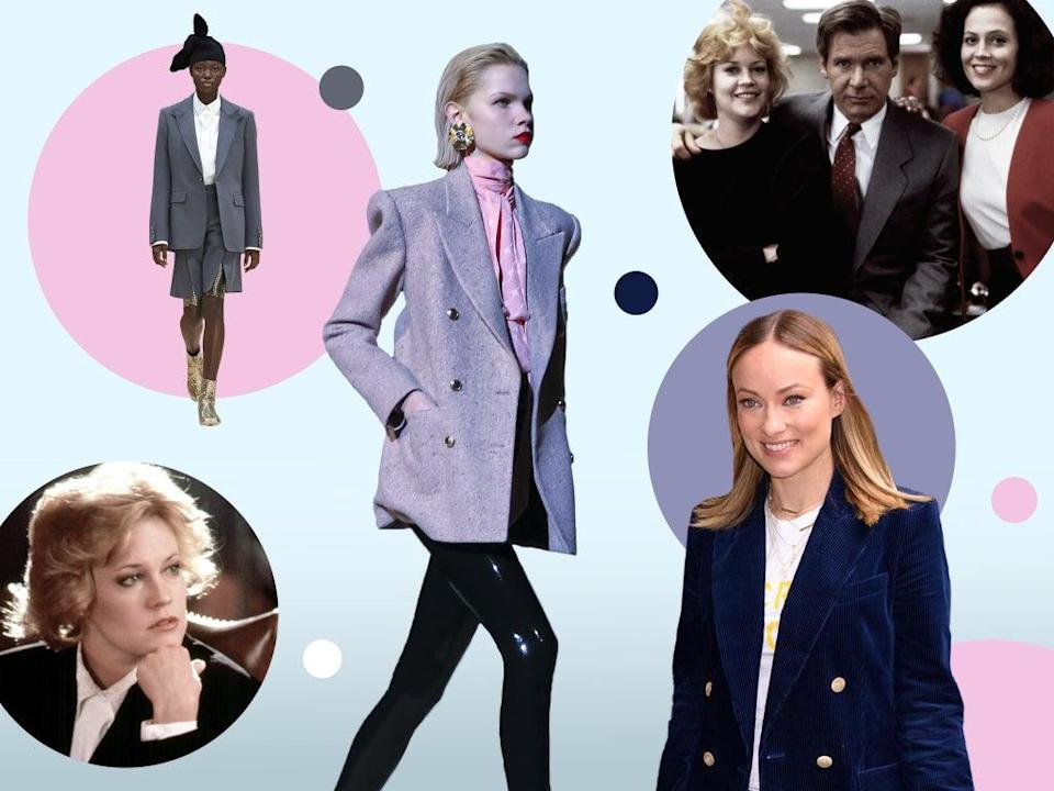 Gone are the days of power dressing (Shutterstock/The Independent)